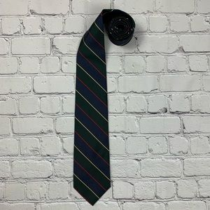 Brooks brothers makers and merchants striped tie.